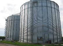 Brock Farm grain storage bin